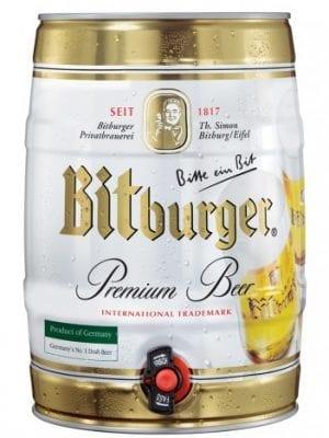 בירה ביטבורגר חבית 5 ליטר